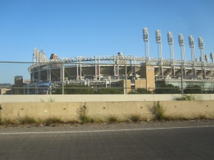 Progressive Field...home of the Cleveland Indians!