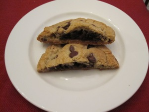 Brownie Filled Chocolate Chip Cookies/Bake, Run, Live