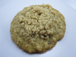 Banana Bread Cookies with Streusel Topping/Bake, Run, Live