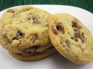 Candy Bar Cookies/Bake, Run, Live