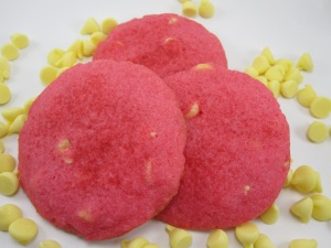 Raspberry Lemon Cookies/Bake, Run, Live