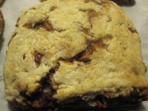Cinnamon Lover's Scones/Bake, Run, Live