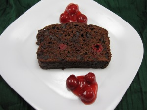 Chocolate Cherry Quick Bread/Bake, Run Live