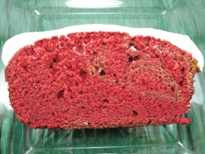 Red Velvet Pound Cake/Bake, Run, Live