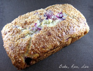 Raspberry Coconut Quick Bread