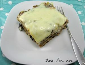 Beef and Eggplant Lasagna