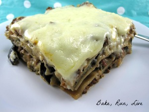 Beef and Eggplant Lasagna