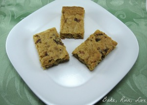 Brown Sugar and Bacon Blondies